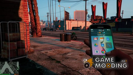 Real Phones HD 1.2 для GTA 5