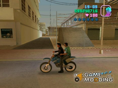 Езда пассажиром for GTA Vice City