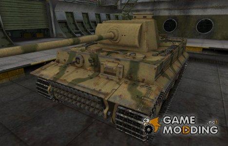Исторический камуфляж PzKpfw VI Tiger для World of Tanks