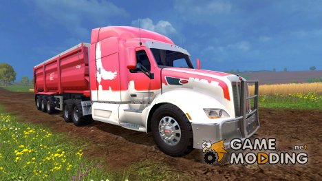 Peterbilt 579 for Farming Simulator 2015