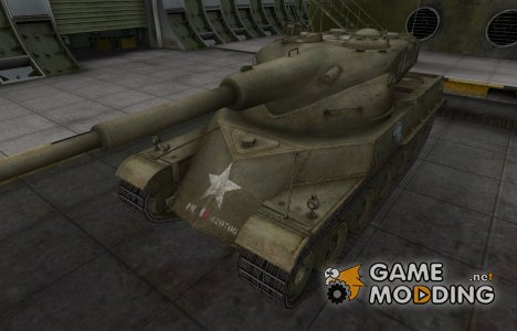 Исторический камуфляж AMX 50 120 для World of Tanks