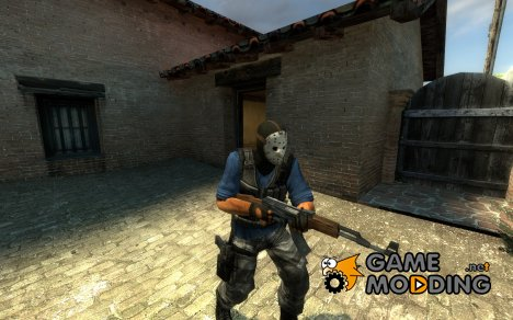 Hockey-Mask Killer for Counter-Strike Source