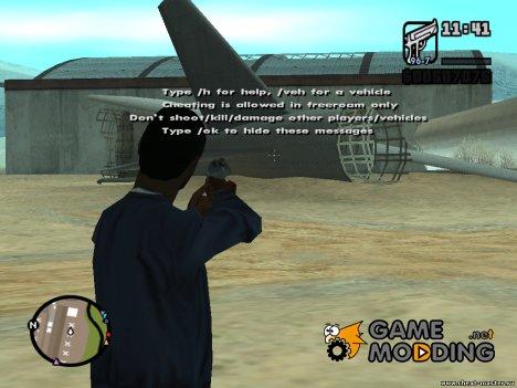 CLEO Zoom любого оружия для GTA San Andreas