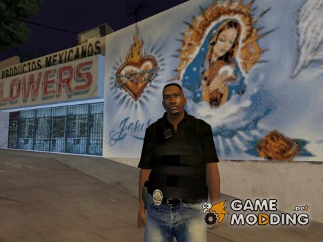 Los Angeles Police Officer для GTA San Andreas