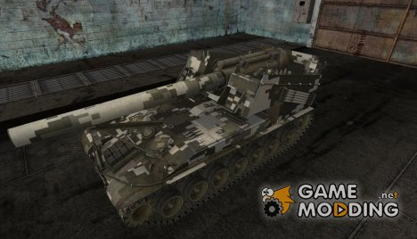 Шкурка для T92 Digital Camo for World of Tanks