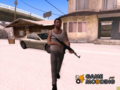 Skin HD GTA V Michael De Santa (Exiled) для GTA San Andreas