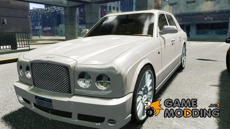 Bentley Arnage T для GTA 4