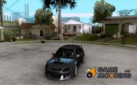 Mitsubishi Lancer Evo VII for GTA San Andreas