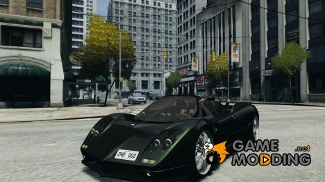 Pagani Zonda C12S Roadster for GTA 4