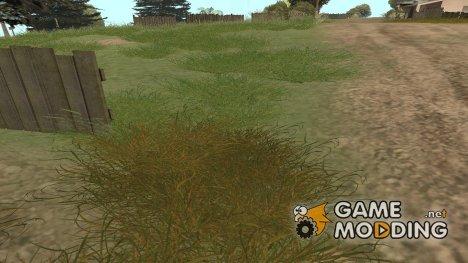 Новая растительность HQ for GTA San Andreas