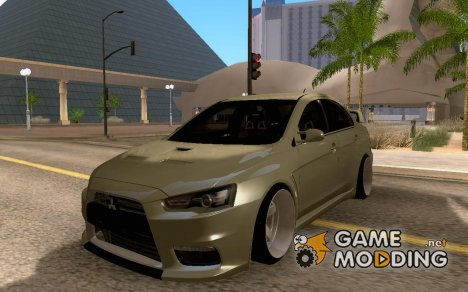 Mitsubishi Lancer Evolution X JDM for GTA San Andreas