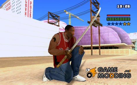 Катана из The Elder Scrolls IV: Oblivion для GTA San Andreas