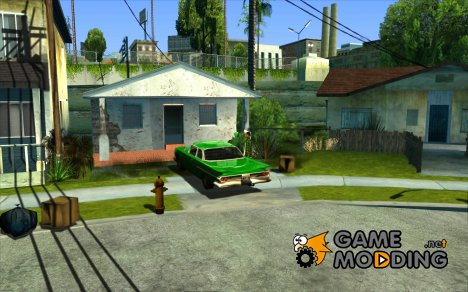 Car in Grove Street для GTA San Andreas