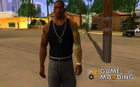 TATOO на всю руку for GTA San Andreas