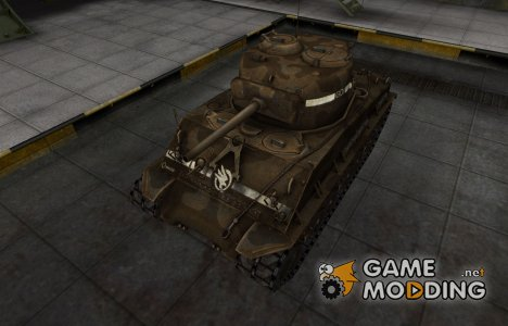 Скин в стиле C&C GDI для M4A2E4 Sherman for World of Tanks