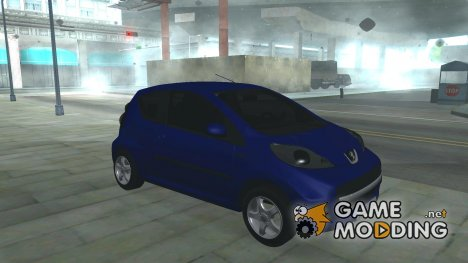 Peugeot 107 for GTA San Andreas