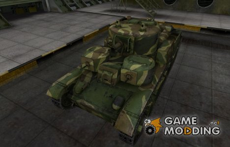 Скин для танка СССР Т-28 для World of Tanks