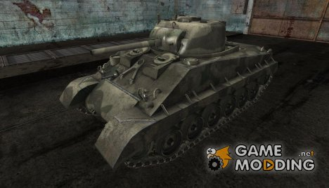 Шкурка для M4A2E4 №5 для World of Tanks