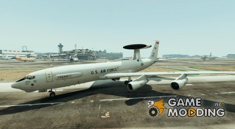 Boeing E3 Sentry AWACS for GTA 5