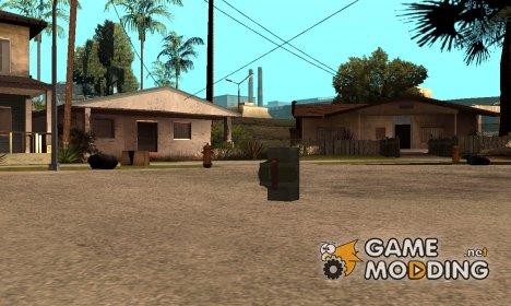 Инопланетная взрывчатка для GTA San Andreas