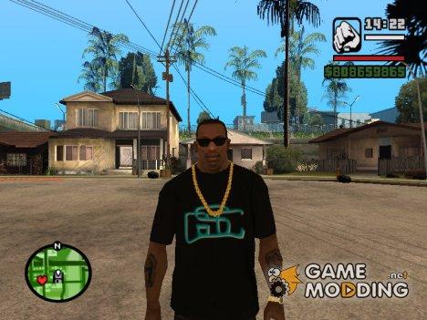 Футболка с логотипом Game World for GTA San Andreas