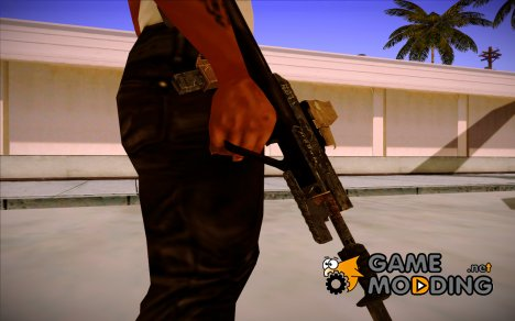 AUG A3 9mm XS из Warface v2 for GTA San Andreas