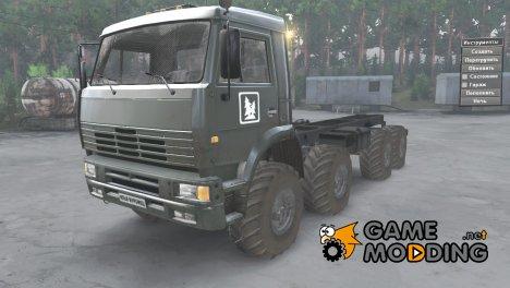 Камаз-6560 «Муромец» for Spintires 2014