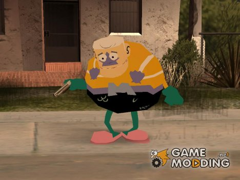 Mermaidman from Spongebob for GTA San Andreas