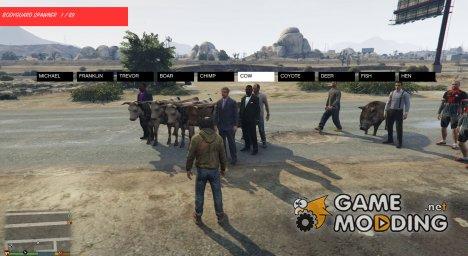 Ped Spawner для GTA 5