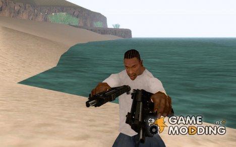 H&K MP5K - Редактированы текстуры for GTA San Andreas