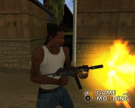 Оружие в HD качестве for GTA San Andreas