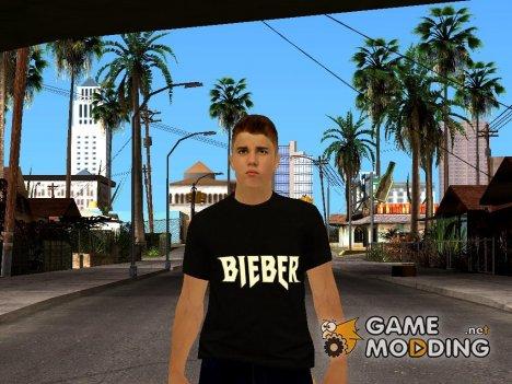 Justin Bieber for GTA San Andreas