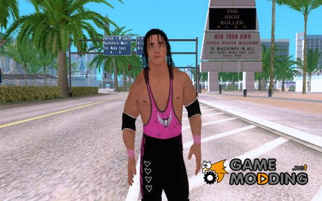 Smackdown Vs Raw 2011 Bret Hart for GTA San Andreas