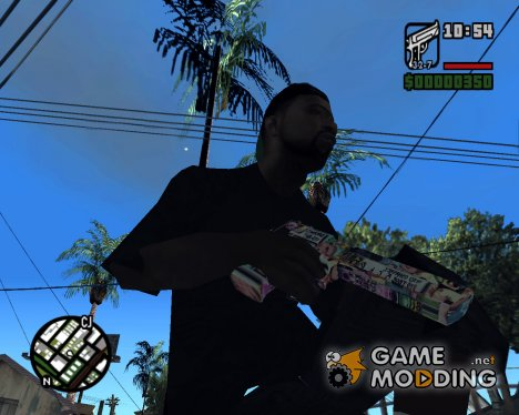 Colorful Desert Eagle для GTA San Andreas
