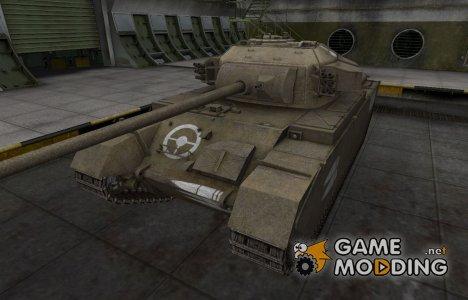 Зоны пробития контурные для Centurion Mk. 7/1 для World of Tanks