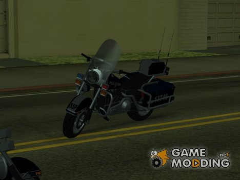 Moto policía federal for GTA San Andreas