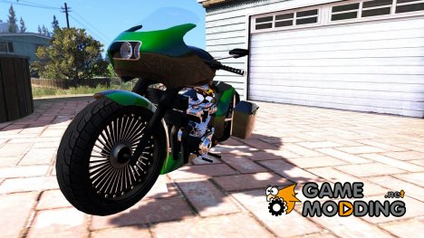 Honda CB750 Bagger 1.0 for GTA 5