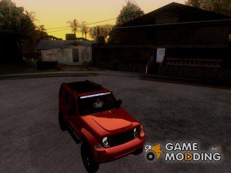 Jeep Cherokee KK 4x4 for GTA San Andreas