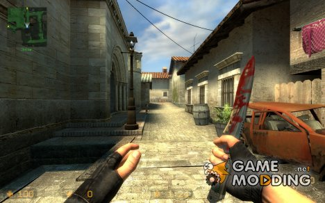 Bloody Knife (first skin) for Counter-Strike Source