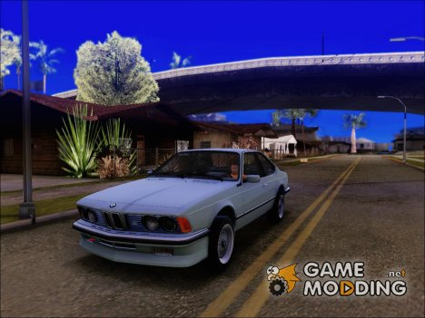BMW M635 CSi 1984 Stock for GTA San Andreas