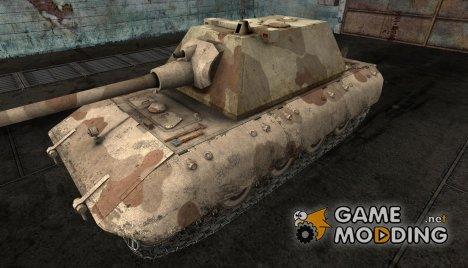 Шкурка для E-100 Desert Camo for World of Tanks