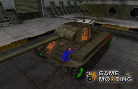 Качественный скин для T25/2 for World of Tanks