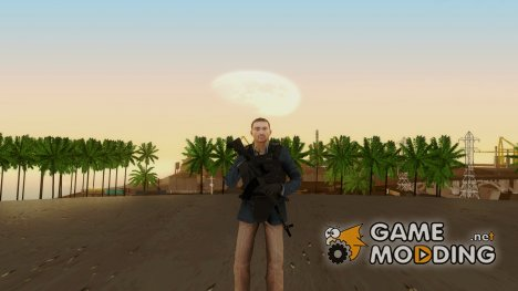 Modern Warfare 2 Soldier 20 для GTA San Andreas