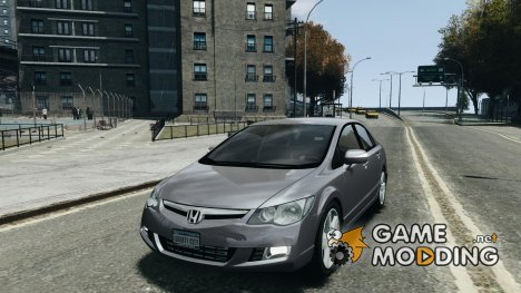 Honda Civic 2006 для GTA 4