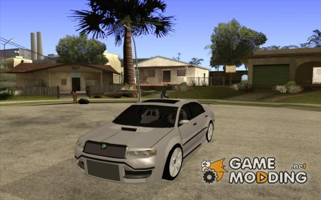 Skoda Superb Light Tuning для GTA San Andreas