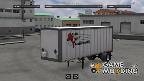 Trailers Pack Box ATS for Euro Truck Simulator 2