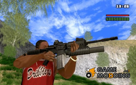 M4A1 for GTA San Andreas