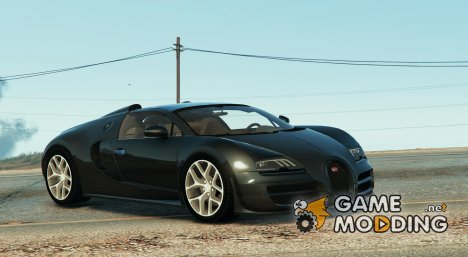 Bugatti Veyron Vitesse v2.5.1 for GTA 5