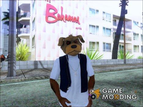 Маска злой собачки for GTA San Andreas
