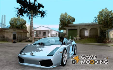 Lamborghini Gallardo Spyder for GTA San Andreas